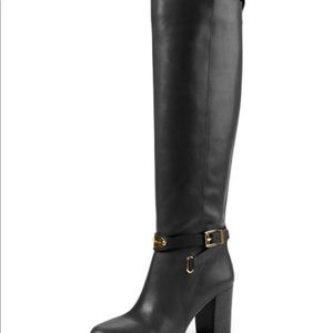 Michael Kors Leather Arley Boots 275 Retail